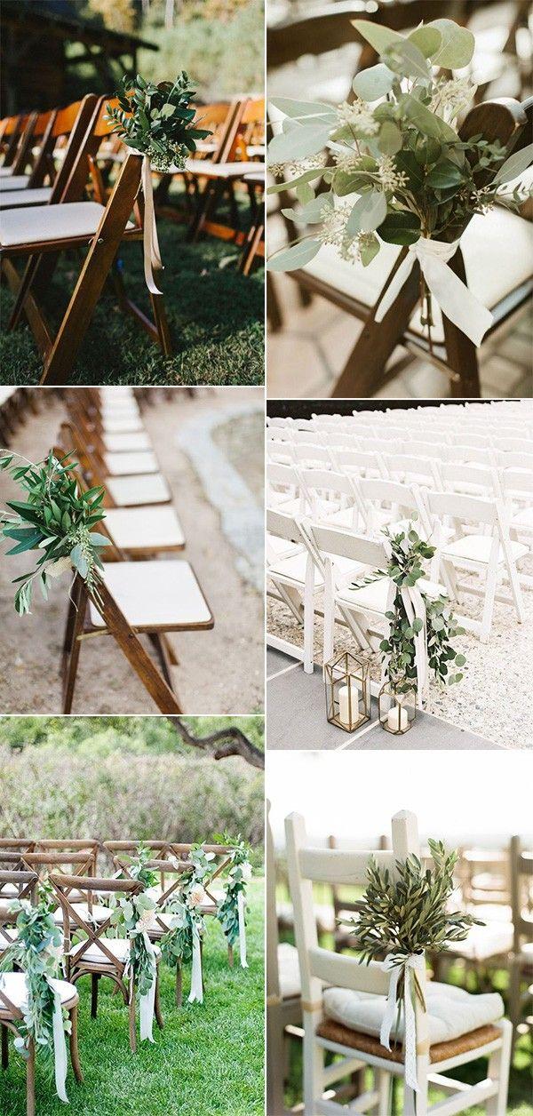 Grün Hochzeit im Freien Gang Dekoration Ideen #emmalovesweddings #weddingideas …   – WEDDING