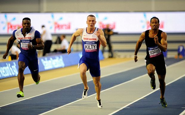 Richard Kilty may not defend his 60m world title to prove Olympic pedigree over longer sprints - Telegraph