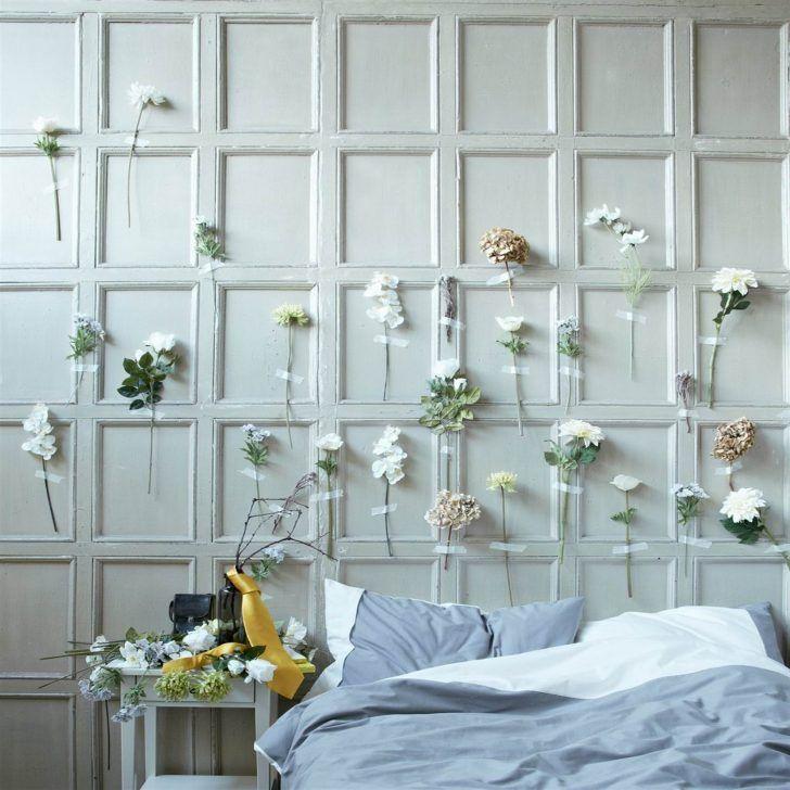 14 Gorgeous Artificial Flower Headboards Wall Decor Bedroom Headboards For Beds Creative Headboard