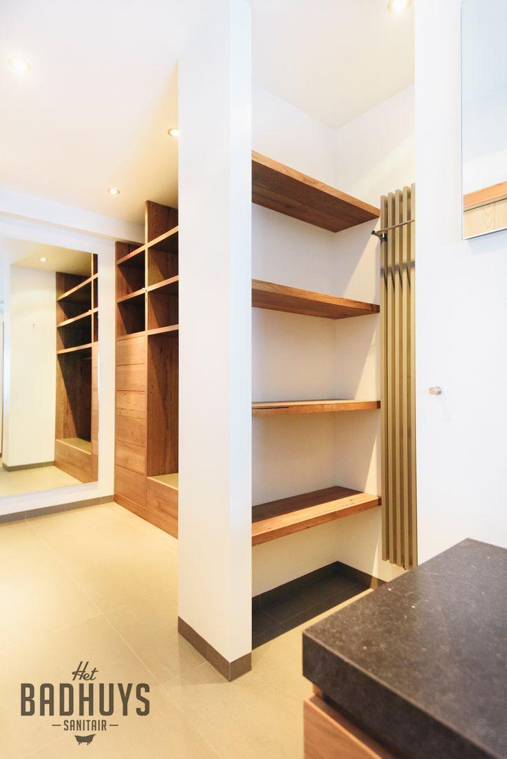 Luxe badkamer met maatmerk kasten | Het Badhuys Breda
