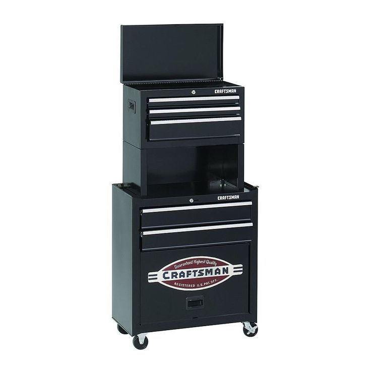 Craftsman Tool Chest 5 Drawer Storage Cabinet Toolbox ...