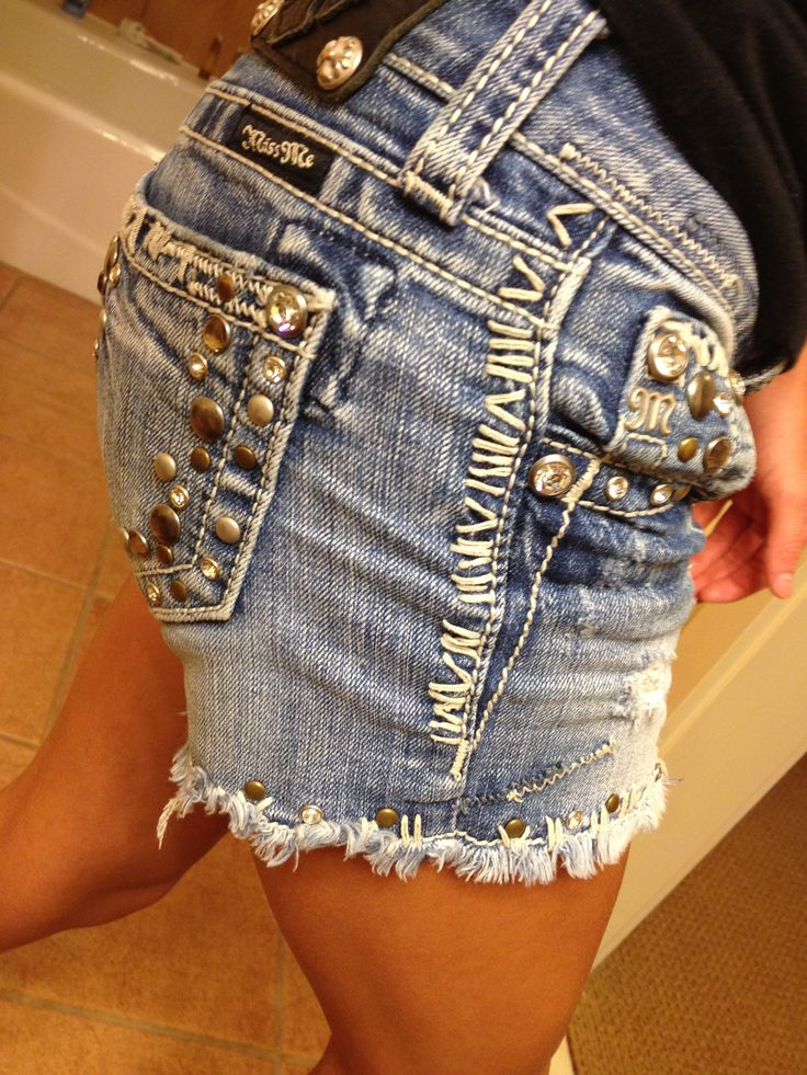 Miss me jean shorts :)
