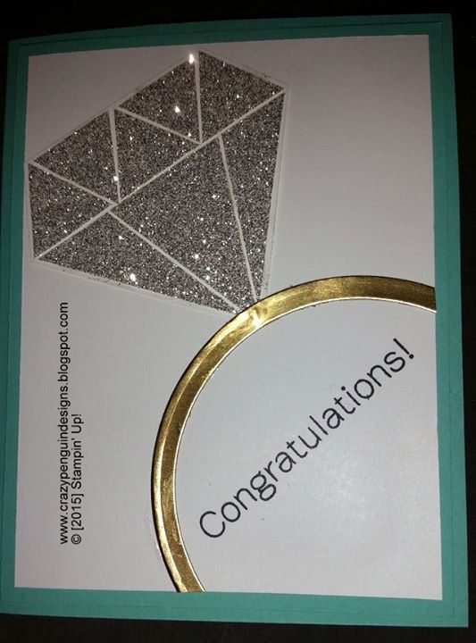 CONGRATULATIONS Wedding/Engagement Card - Good friends are like diamonds- precious & few.