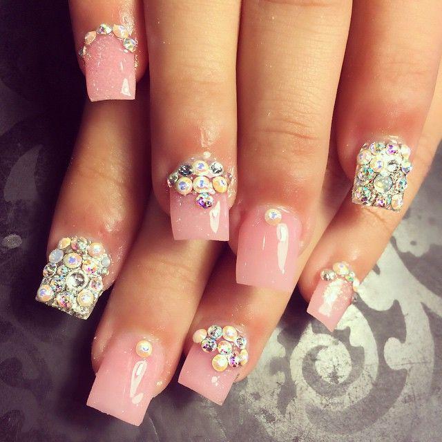 8 mejores imágenes de uñas acrílicas en Pinterest | Uña decoradas ...