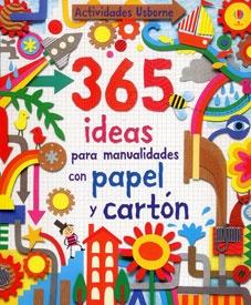 Un libro que ofrece 365 originales ideas para realizar - Manualidades con papel de colores ...