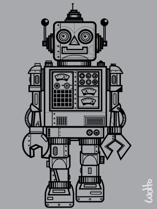 Robots, again possible tattoo idea.