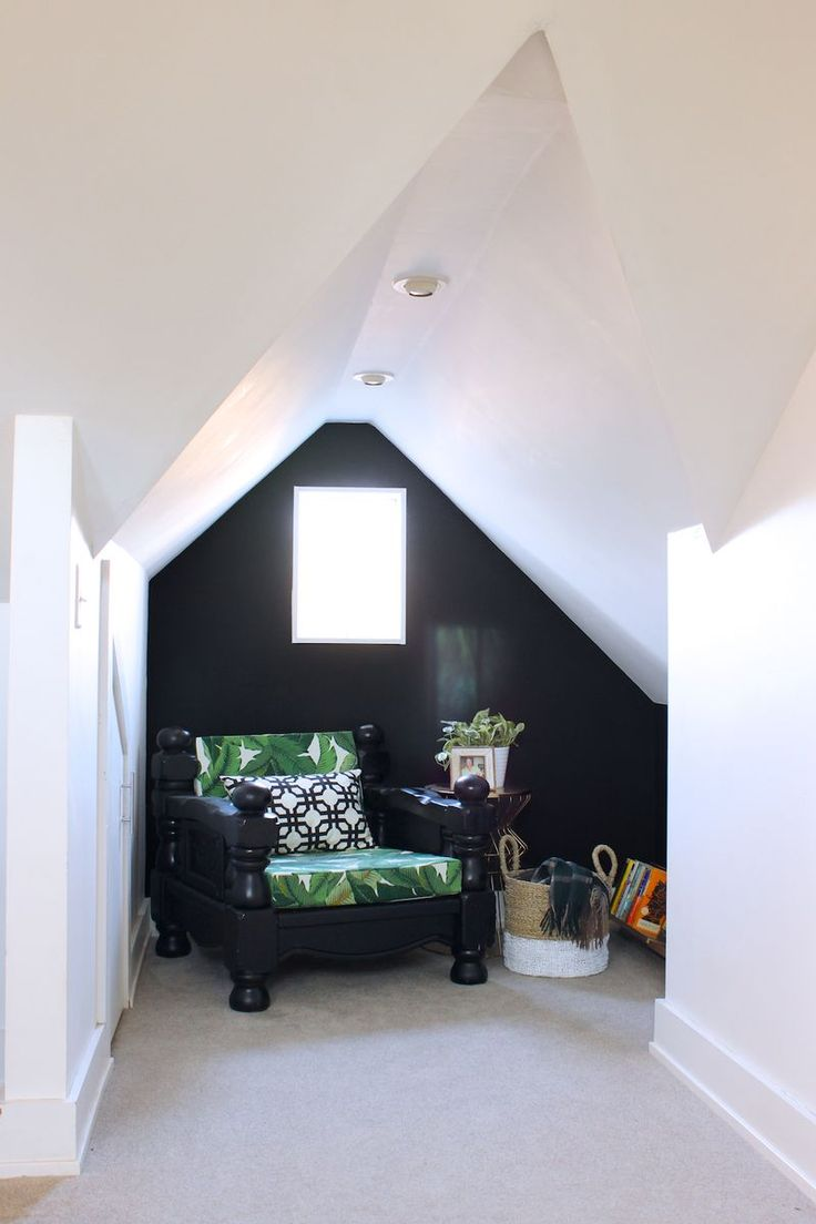 Adorable reading nook 165 best Attic images