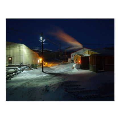 McMurdo Station Antarctica Postcard - winter gifts style special unique gift ideas