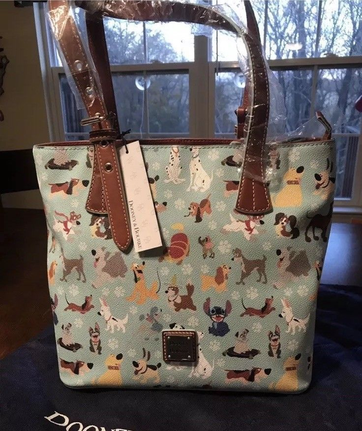 5ab064406315 Authentic Dooney & Bourke Disney Dogs Emily Tote - NWT!! #Disneyana #Disney  #WaltDisney