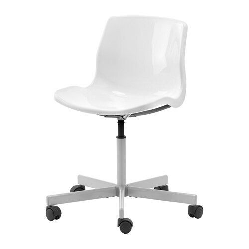 SNILLE Swivel chair, white $19.99
