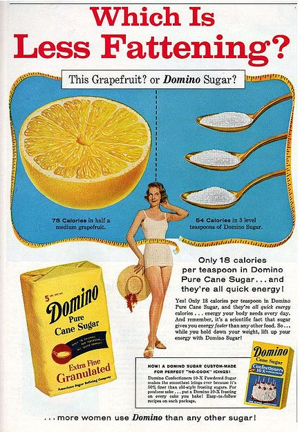 5 hilarious vintage ads which spruik the health benefits of sugar