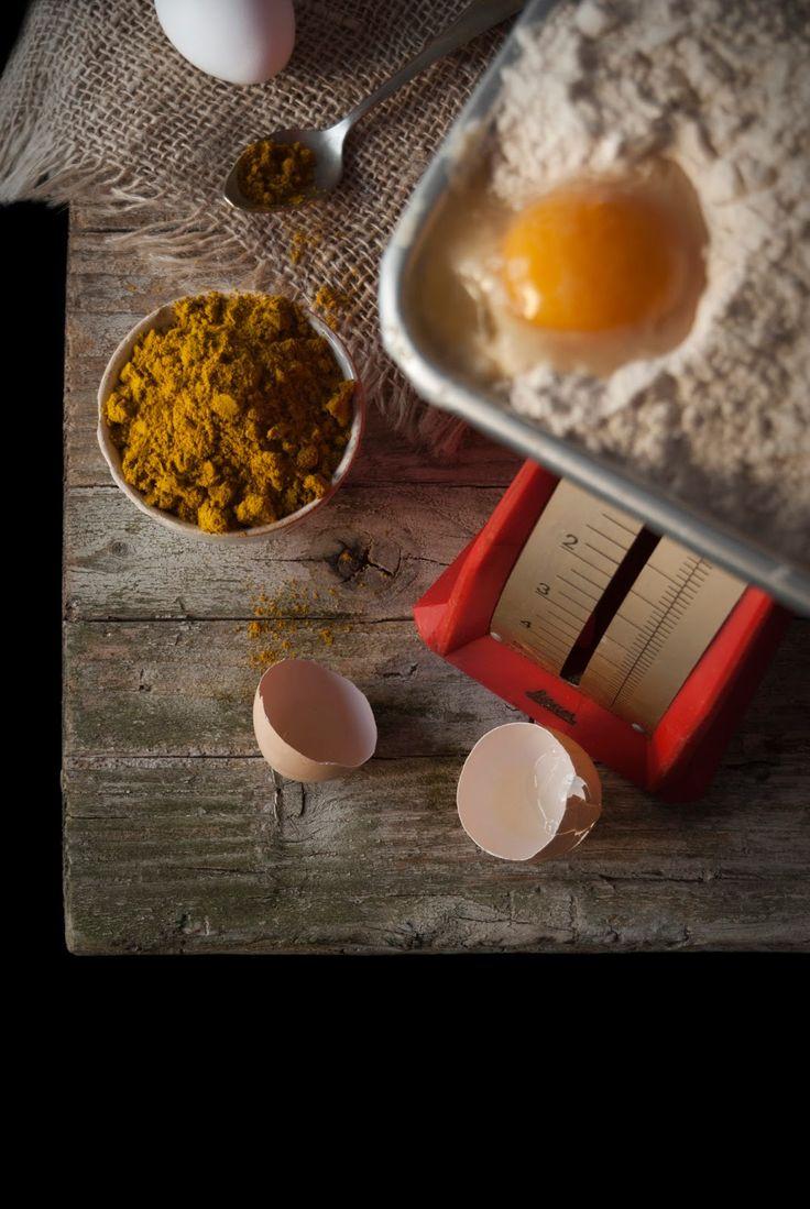 La asaltante de dulces: Ingredientes para bollos de chocolate y curry