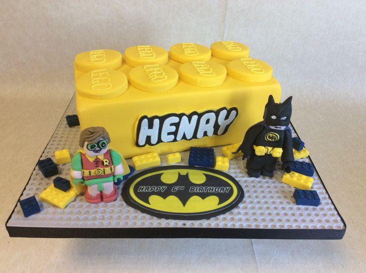 Large LEGO block - Batman theme
