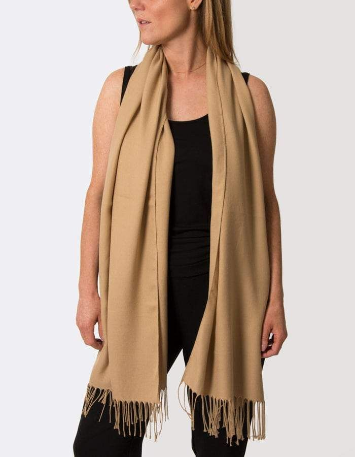 49d380b23cfd3 Beautiful Gold Pashmina from Scarf Room, the largest online retailer of  pashminas and scarves in
