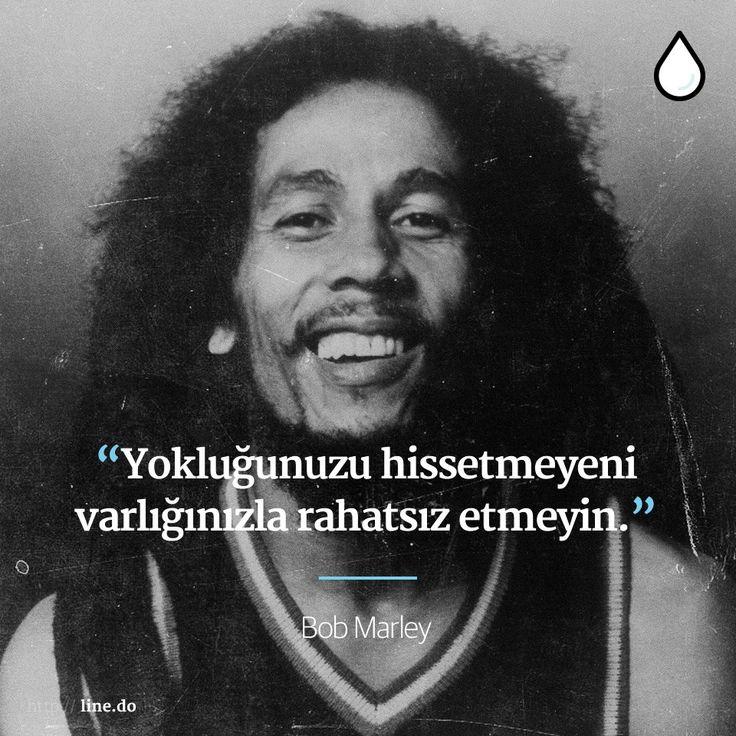 Yoklukları mutluluk getirenlere Bob Marley'den gelsin