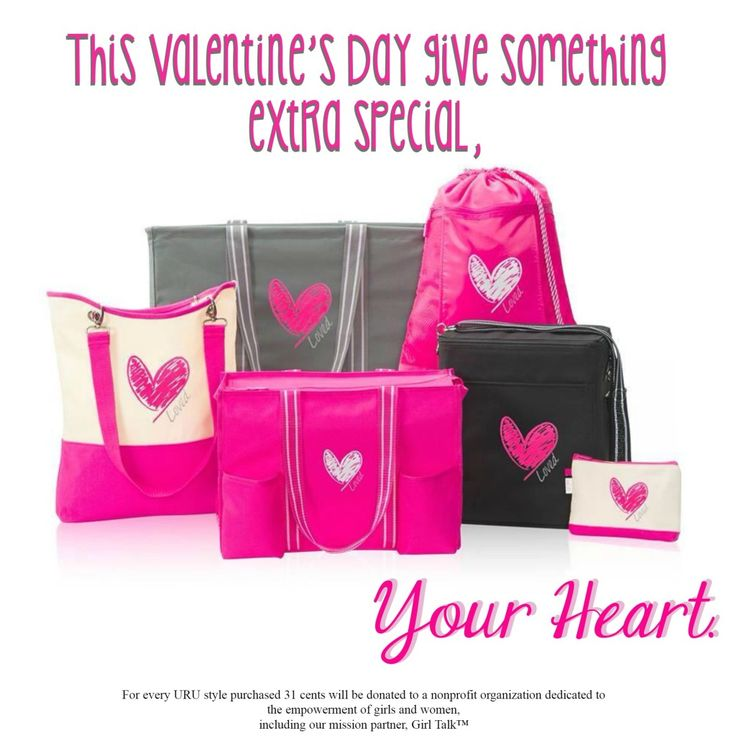 I have a love/hate relationship with Valentine's Day. Mostly I love it. And Thirty One is making it super loved this year.