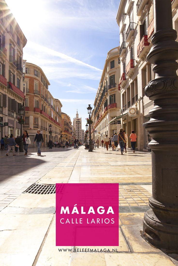 Lekker zin om te shoppen in Málaga? Sla dan deze straat niet over.