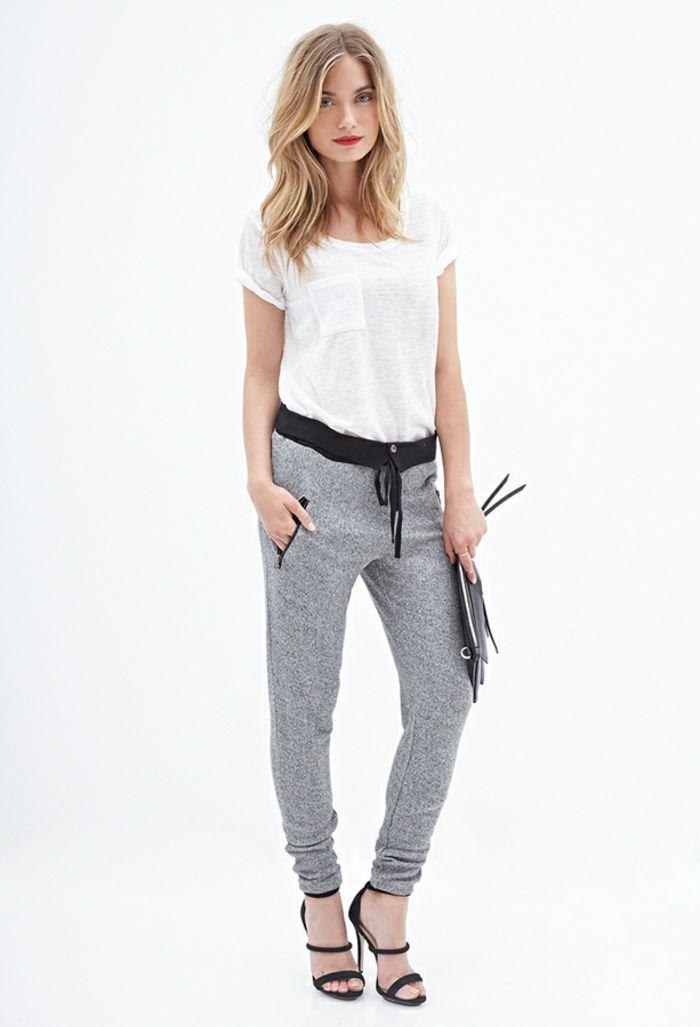 5d5585d8d5fba3 ▷ 40+ Ideen für trendy Jogginghosen für Damen | Jogginghose elegant ...