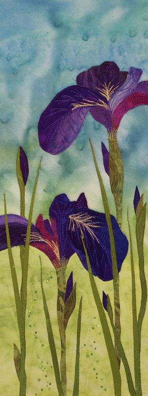 IRIS by Nancy Dobson | Textile Artist