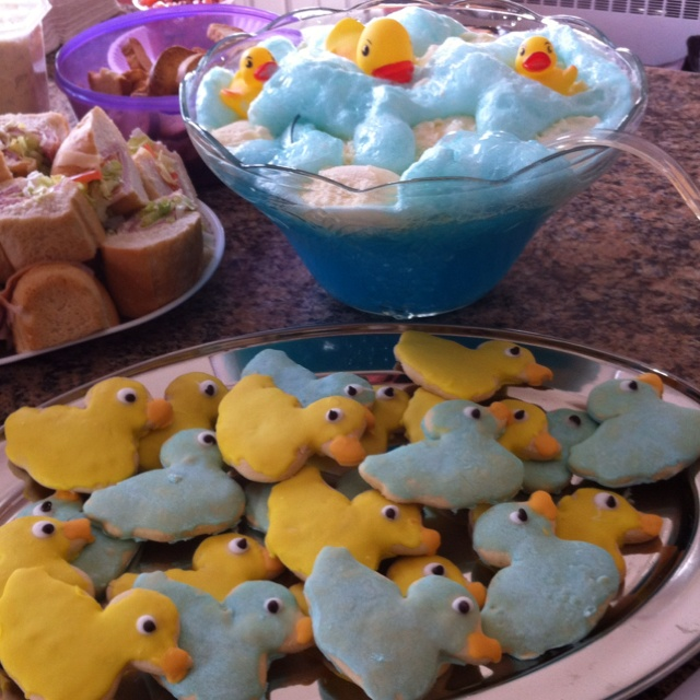 Duck cookies with duck punch!