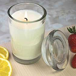 This is the Smell of Summer!    Organic Strawberry Lemonade Candle at isabellacatalog.com