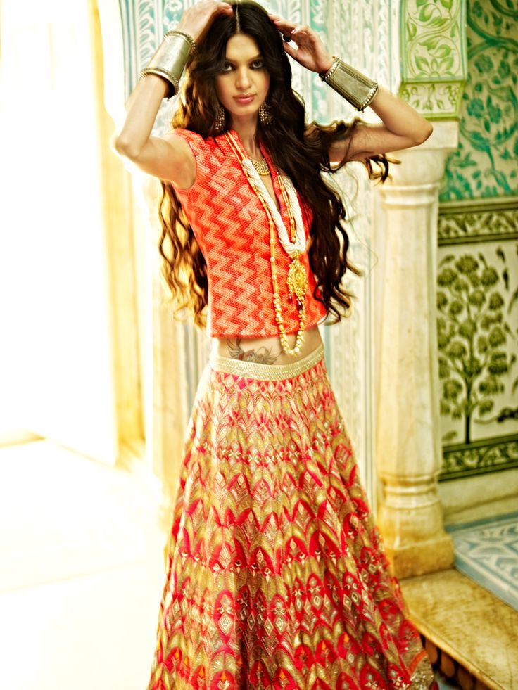The Jaipur Bride 2013 collection by Anita Dongre.