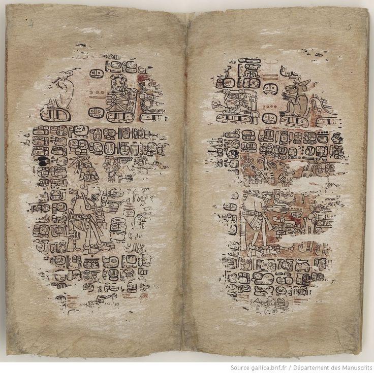 Il codice di Parigi, o Codex Peresianus,  contiene profezie ed uno zodiaco Maya, ed è quindi similare ai libri di Chilam Balam. Il codice apparve la prima volta nel 1832, come acquisto della Bibliothèque Impériale francese (in seguito diventata Bibliothèque nationale de France) a Parigi. | Gallica