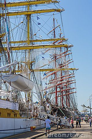 Anchored Tall Ship - Download From Over 24 Million High Quality Stock Photos, Images, Vectors. Sign up for FREE today. Image: 41282608