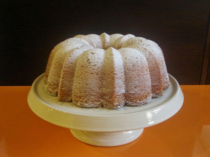 una chispa de dulzura: Bundt cake de limon y gengibre confitado.