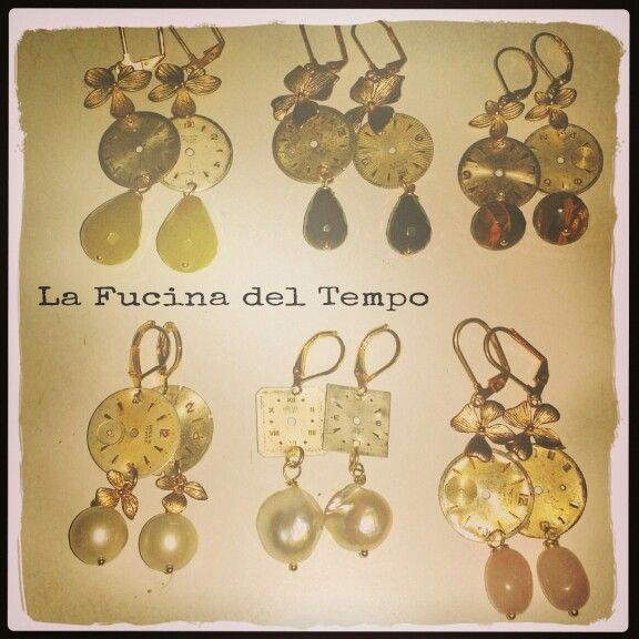 """Earrings """"senza tempo"""" Available in store."""