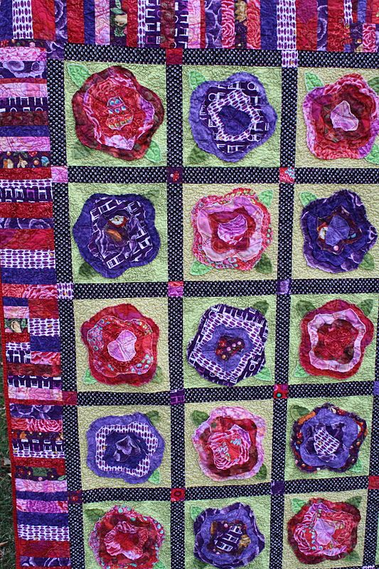 94 Best French Roses Quilts Images On Pinterest Quilt Patterns