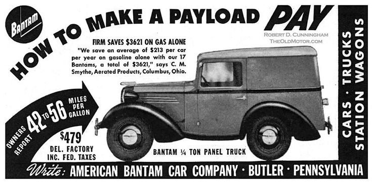 AMERICA'S ONLY ECONOMY CAR – Part IV of the American Austin Bantam Story | The Old Motor