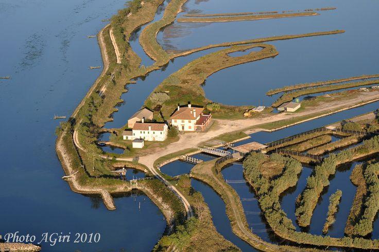 Parco del Delta del Po vicino a Pila