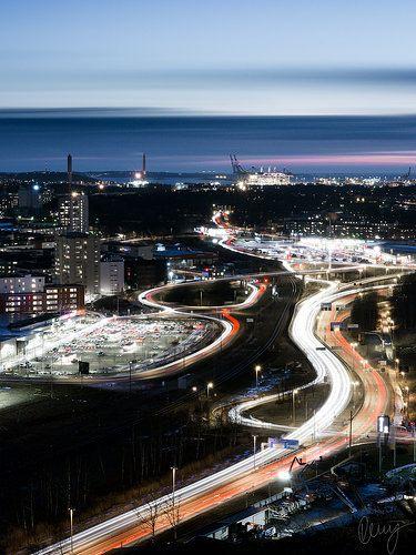 Hisingen by Night