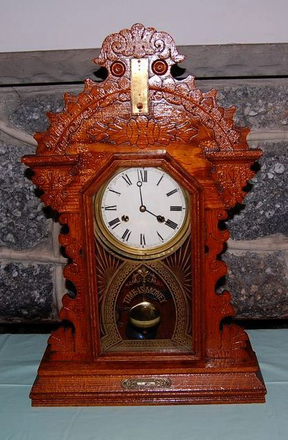 Late 1800 S E Ingraham Co Gingerbread Quot Time Is Money