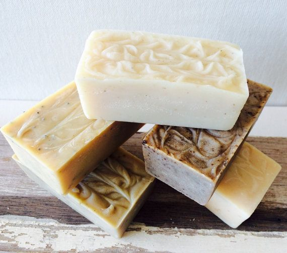 Man Soap. Handmade Men's Skin Care. Plant-Oil by PureHavenNaturals