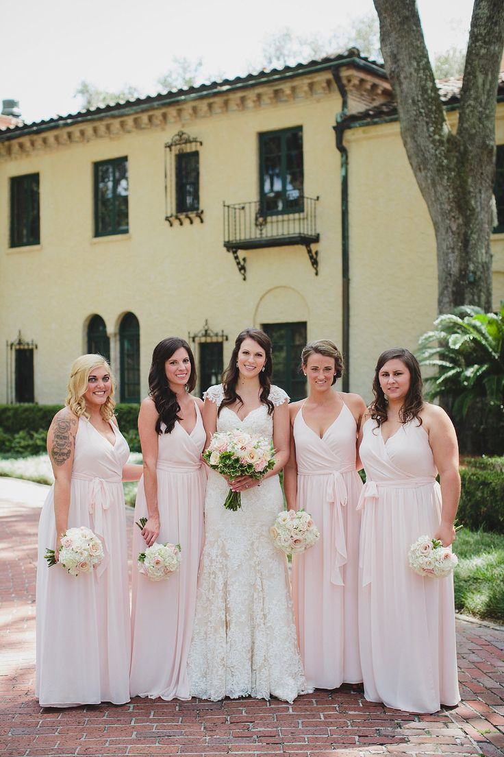 16 best bridesmaid dresses images on pinterest marriage gold epping forest yacht club wedding by stephanie w photography jacksonville wedding pink bridesmaid ombrellifo Images