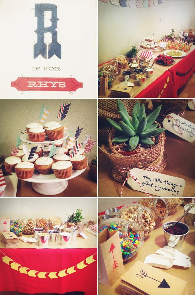 Welcome to Our Tribe - Arrow Inspired Baby Shower | Bringing Design Home