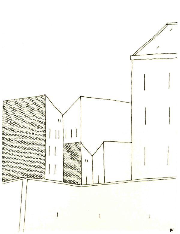 Firewalls  original drawing by Virág Révai http://www.magma.hu/muveszek.php?id=124