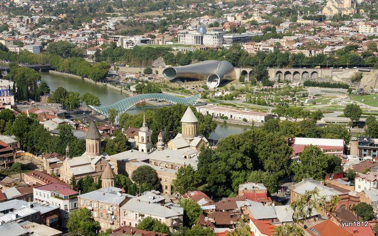Photoblog     yuri1812: Тбилиси. Старый город и современная архитектура