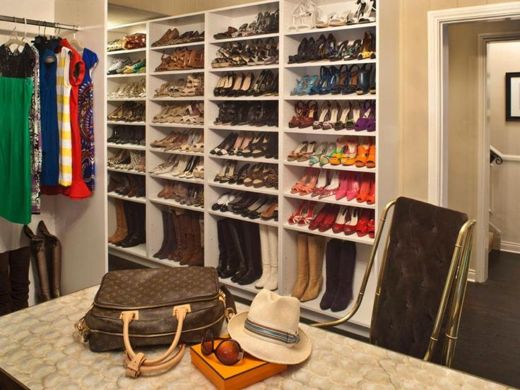 Basic Closet Shoe Shelves