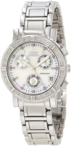 6. Invicta Women's 4718 II Collection Limited Edition Diamond Chronograph Dress Watch