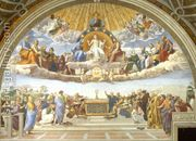 Disputation of the Holy Sacrament (La Disputa)  by Raphael