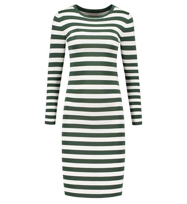 Nikkie groene jurk