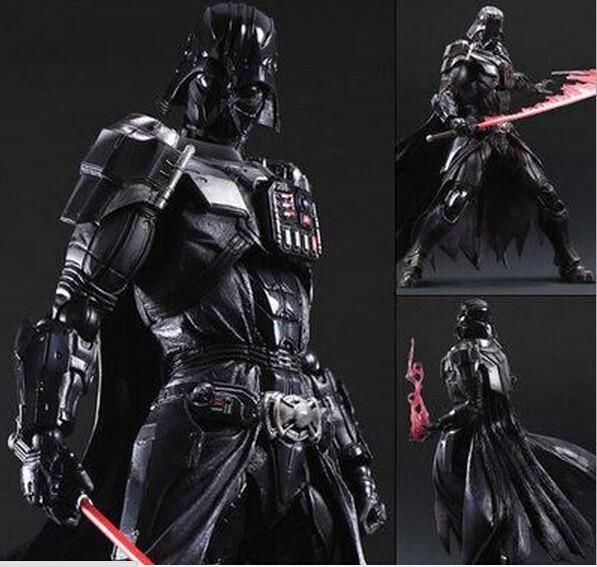 BUY this LIMITED Darth Vader Action Figure this is not original playarts but very high quality DESCRIPTION  The Name:  Darth Vader  Commodity material:PVC Condition:100% NEW Size: Approx 275mm  ** LIMIT 5 PER CUSTOMER ** 25 pieces available ACT FAST! IT is FREE Shipping
