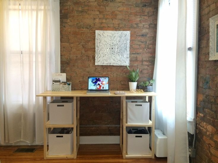 Build a Desk with These Free Plans: Parson Tower Desk Plan from Ana White