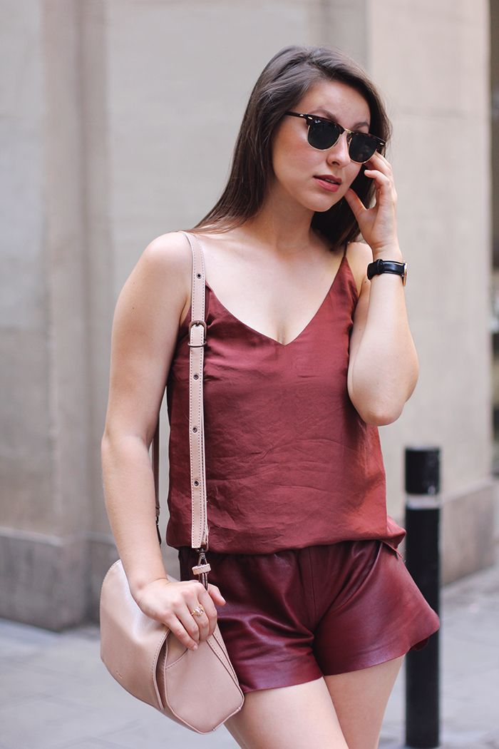 burgundy... in summer
