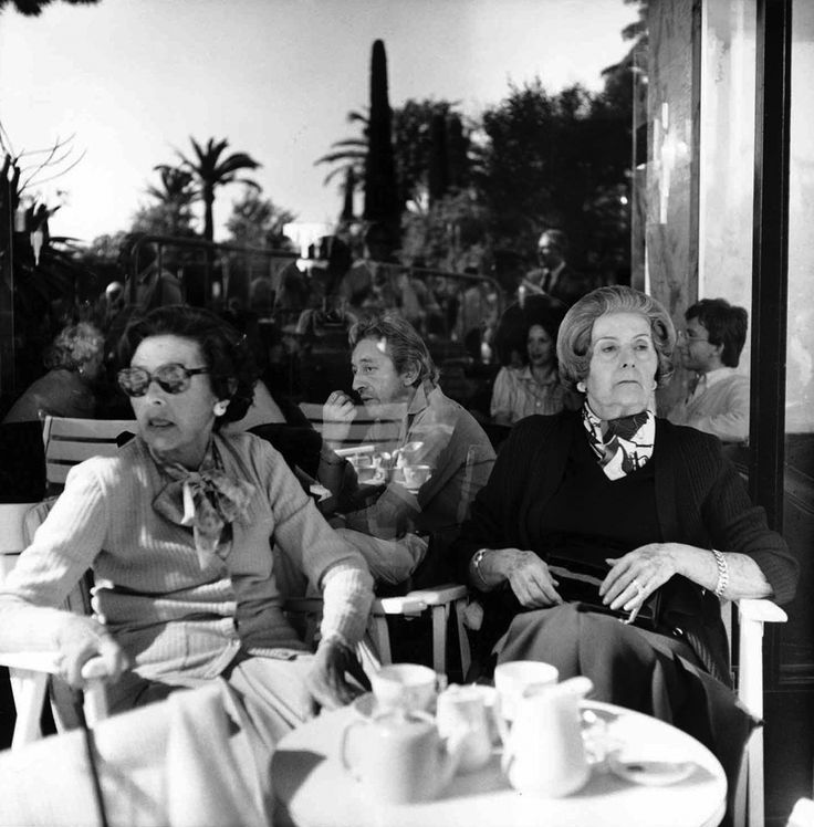 Serge Gainsbourg, Cannes.