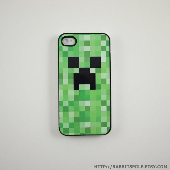 Minecraft iPhone 4 Case