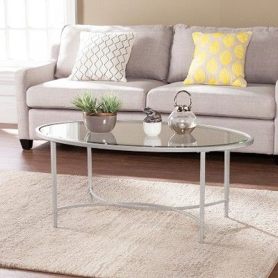 Cocktail Table Silver, Coffee Tables